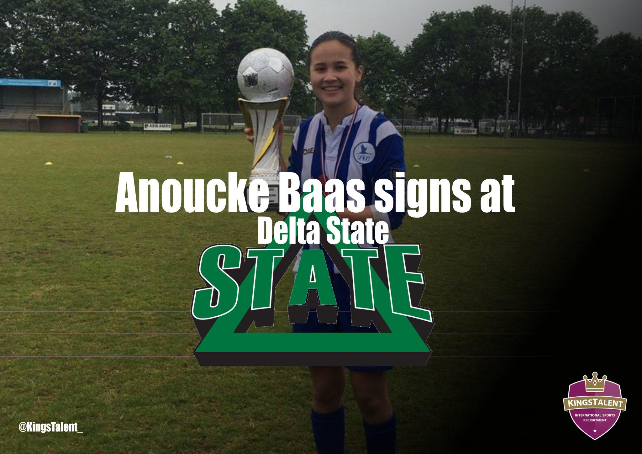 Anoucke Baas signs at Delta State