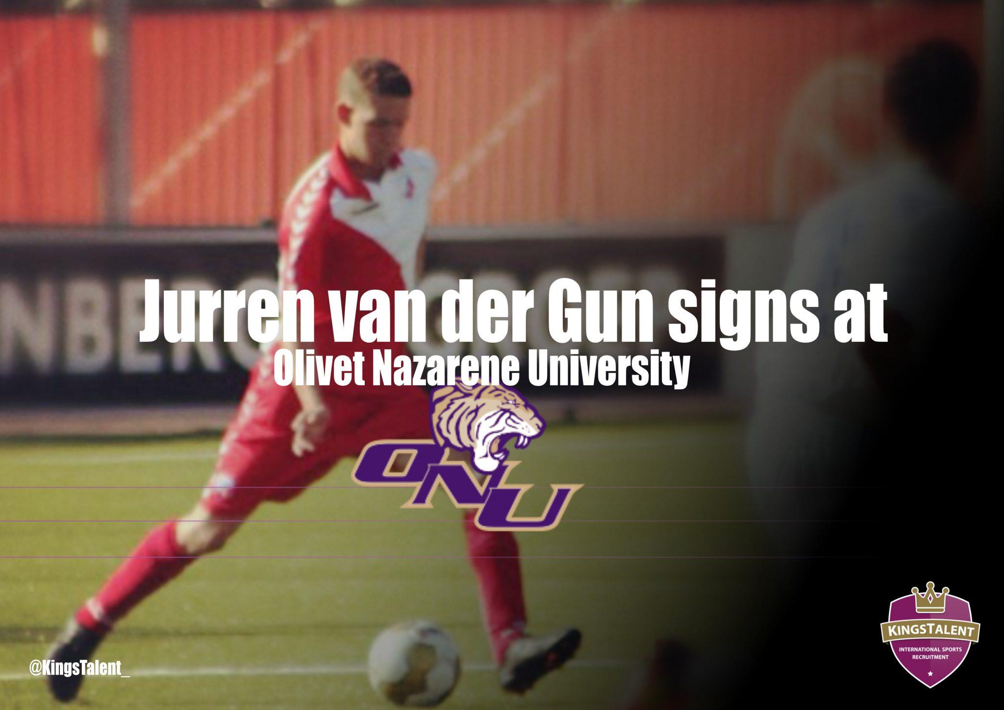 Jurren van der Gun signs at ONU2