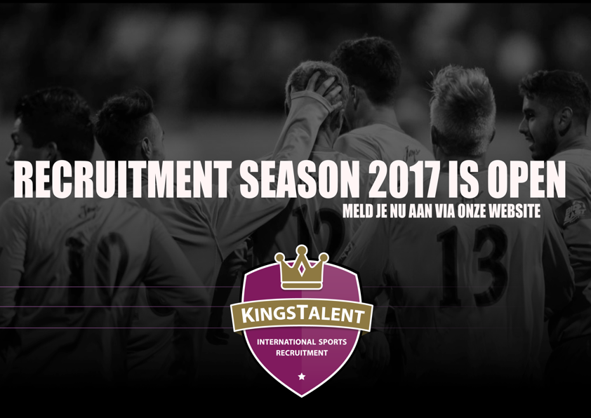 Recruitment year 2017 is open