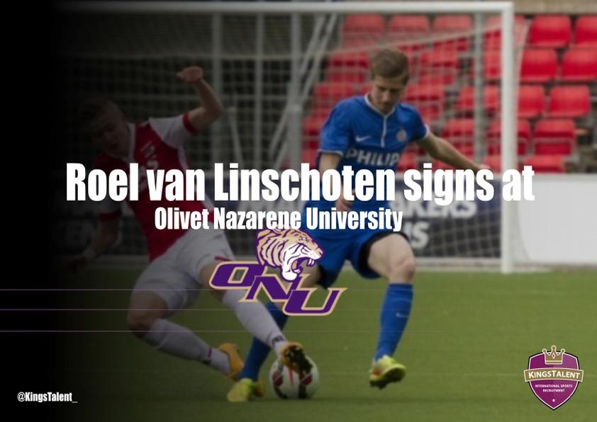 Roel van Linschoten Signing