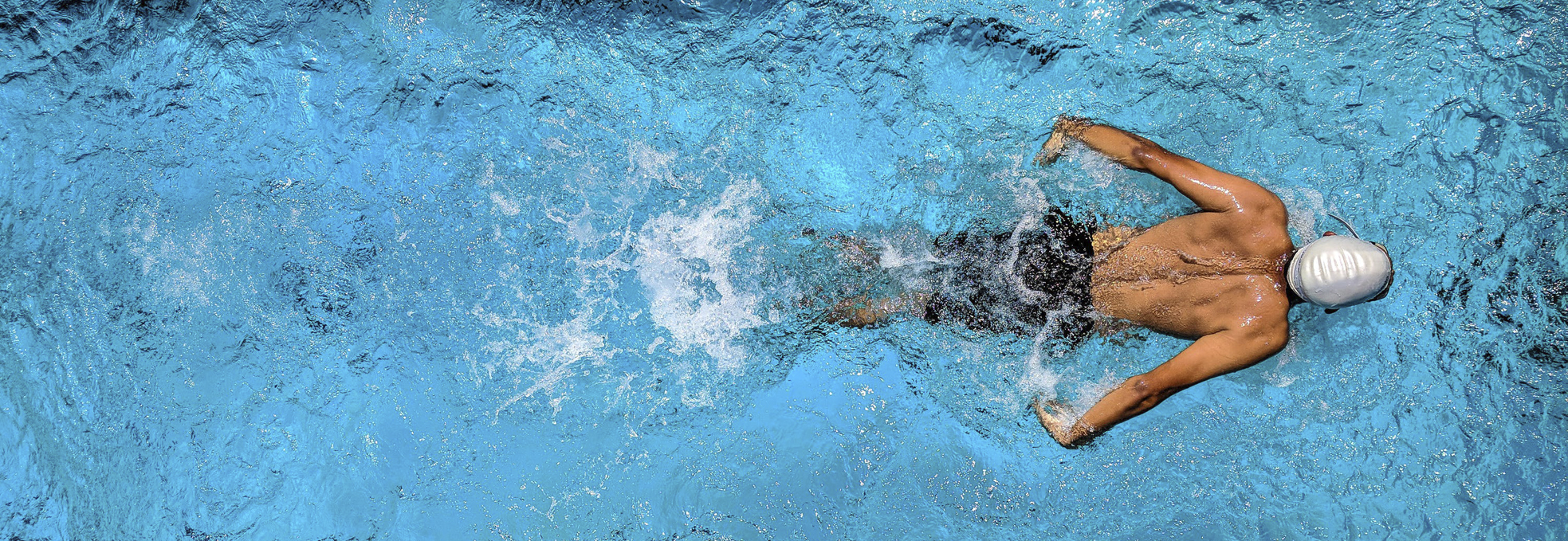Zwemmen streamer